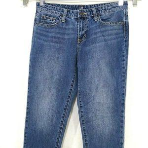 Gap Sexy Boyfriend Ankle Denim Jeans Women Size 27